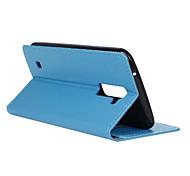 откидная крышка стиль бумажник с слот для карт памяти для LG K7 случай способа Касс зерна шаблон текстуры случай (ассорти цветов)