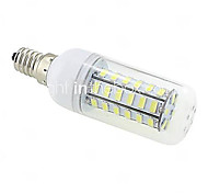 10W E14 / G9 / B22 / E26/E27 LED-maïslampen T 48 SMD 5730 1000 lm Warm wit / Koel wit AC 220-240 V