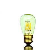 Bombillas LED de Globo Regulable / Decorativa NO Tubo E26 / E26/E27 3W 6 COB 200-400 lm Blanco Cálido AC 100-240 / AC 110-130 V 1 pieza