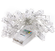 brelong 20-LED RGB 2m vacanze di Natale decorazione esterna luce della stringa (DC4.5V)