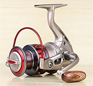 Спиннинговые катушки 5.5:1 10 Шариковые подшипники Заменяемый Морское рыболовство Спиннинг Пресноводная рыбалка Обычная рыбалка-DF4000