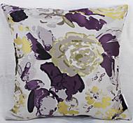Waterprinting Jacquard Cushion Cover -Purple