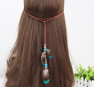 Handmade Bohemian Style Women Fashion Feather Headpieces Headband