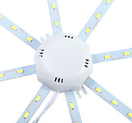 1 pcs YWXLIGHT 12W 24 SMD 5730 960 lm Cool White Decorative LED Ceiling Lights AC 220-240 V
