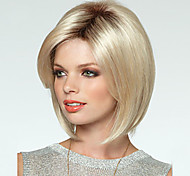 Women's Fashion Short BoBo Hair Blonde Color Hot Sale.