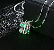 Necklace Pendant Necklaces / Chain Necklaces / Pendants Jewelry Daily / Casual Alloy Dark Blue / Bronze / Green 1pc Gift