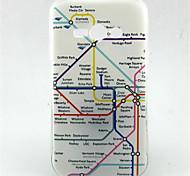 mapa padrão TPU material de telefone para Samsung j1 ace / g5308