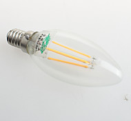 Zweihnder W415 E27 4W 380LM 3000-3500K LED Tungsten Core Warm Light Candle Light(AC 220-240V)