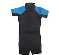 Kid's Diving Suit  Wearable / YKK Zipper / Thermal / Warm Wetsuits 1.5 to 1.9 mm Black / Blue XXS / XS / S / M