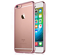 iPhone 7 Plus Electroplating Transparent Luxury TPU Soft Case for iPhone 6s 6 Plus