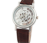 Men's Hollow  Fashion Quartz Watch Cool Watch Unique Watch