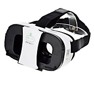 FiiT VR 2s Virtual Reality 3D Video Helmet Glasses - White + Black