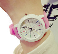 Unisex watches Simple fashion children watch Candy-colored Silica gel watch woman watch quartz Wristwatch montre femme