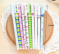 Floral 10-Color Gel Pen Set(10 PCS/Set)