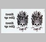 la moda del tatuaje indio americano pegatinas impermeables del tatuaje
