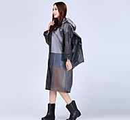 Adult Backpack Raincoat Hat Transparent Foot Long Section Of Single Outdoor Poncho NPC Code