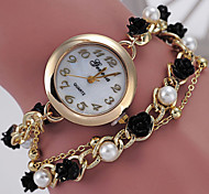 Women's Fashionable Leisure Decorative Pearl Bracelet Spaced Watch Cool Watches Unique Watches
