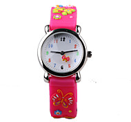 Fashion 3D Pattern Silicon Rubber Belt Child Watch Cool Watches Unique Watches