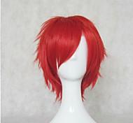 новое прибытие красные парики из синтетических волос Короткие вьющиеся естественно анимационный парики косплей парик парики партии
