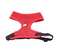 Fashion Color Mesh Dog Harness Net Cloth Chest And Back Cover Net Cloth Pet Back Puppy Comfort Harness