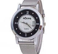 Women's Fashion Silver Mesh Belt Watch Cool Watches Unique Watches
