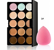 The New Hot Special Professional Makeup Base Palettes Cosmetic 15 COLOR Concealer Facial Face Cream Care Camouflage