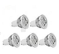 5W GU10 Lâmpadas de Foco de LED MR16 1 350-400 lm Branco Frio AC 85-265 V 5 pçs