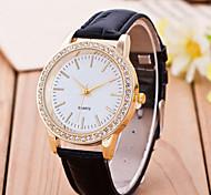 Women's Belt Diamond Quartz Watch Leather Band Women Belt Diamond Quartz Watch Cool Watches Unique Watches