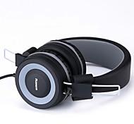 fone de ouvido com microfone kanen para viagens, trabalho, esporte funcionar, fones de ouvido meninas miúdos para a música ou jogos