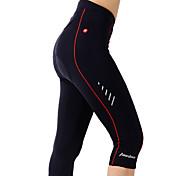 TASDAN Bicicletta/Ciclismo 3/4 Collant/Corsari / Pantaloncini / Pantaloncini imbottiti di protezione Per donnaTraspirante / Asciugatura