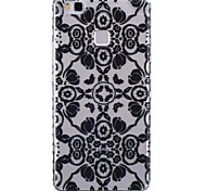 Full Flower Pattern PU Material Phone Case for Huawei P9 Lite/P9