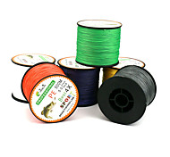 500 Meters Dyneema Braided Fishing Line PE Line 4 Encoding 6-color Multi-standard Anti-Bite Fishing Line Kite Line