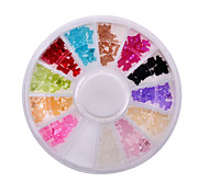 Fashion Women Beauty Nail Art Glitter Decoration Tools 3d Bow Tie Pearl Wheel Nail Supplies Tools