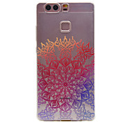 TPU Material Lucky Flower Pattern Slim Phone Case for Huawei P9 Lite/P9