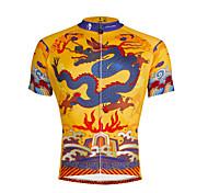 PaladinSport Men 's Short Sleeve Cycling Jersey DX634 dragon robe 100% Polyester