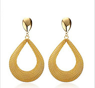 Earring Geometric Jewelry Women Fashion Party / Daily / Casual Stainless Steel 1 pair Gold