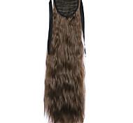 Brown Deep Wave Lace Wig Corn Hot Ponytails 6B