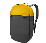 POFOKO® 14 Inch Oxford Fabric Laptop Backpack Black/Yellow