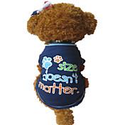Dog T-Shirt - XS / S / M - Summer - Blue Cotton