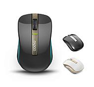 Rapoo orginal mouse sem fio 6610 de modo dual 2,4 g e jogos sem fios Bluetooth 3.0 área de trabalho laptop óptica com nano