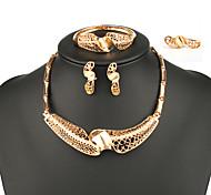 Fashion Women India Style Jewelry Set Four-Piece Suit Ladies Jewelry