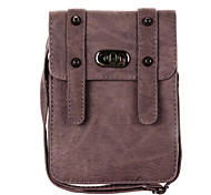 Universal Leather Cell Phone Bag Shoulder Pocket Wallet Pouch Case Neck Strap For Samsung For iPhone For Huawei For HTC