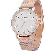 Women's Fashion Alloy Steel Strip Simulation Display Quartz Watch(Assorted Colors)