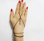 Braccialetti anello 1 pezzo,Bronzo Bracciali Vintage / Alla moda Lega Gioielli Da donna