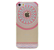 Para Funda iPhone 6 / Funda iPhone 6 Plus Transparente / Diseños Funda Cubierta Trasera Funda Logo Playing With Apple Suave TPU Apple
