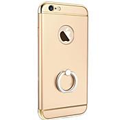 lusso placca 3 in 1 protezione posteriore di caso duro staffa anello di copertura con cavalletto per iPhone se 5s / iPhone / iPhone 5