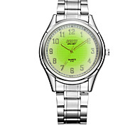 Men's Fashionable Stainless Steel Quartz Luminous Watch Wrist Watch Cool Watch Unique Watch