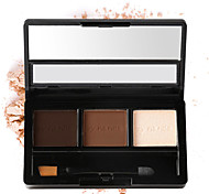 By Nanda® Three Color Eyebrow Pressed powder And Highlight