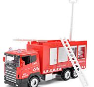 Dibang - 01:43 Livraison de pompiers de jouet en alliage d'inertie modèle de voiture jouet pistolet à eau la voiture enfants Gratuite