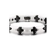 terapia magnética pulseira de cuidados de saúde de jóias unissex pulseira branca jóias de moda